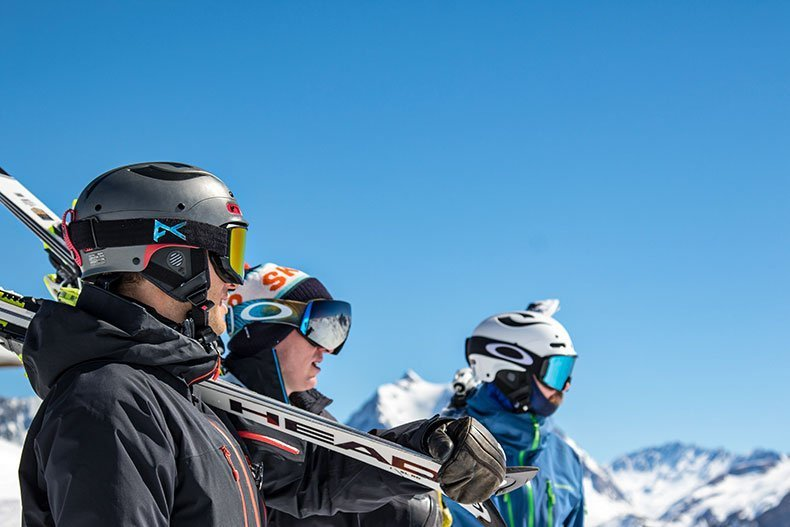 off-piste skiing in Courchevel and Meribel